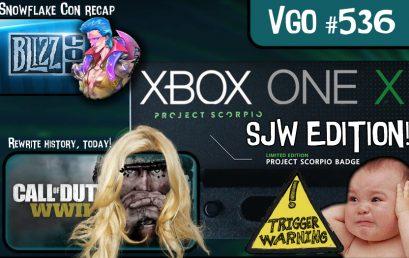 Episode #536 – Xbox One X, SJW Edition