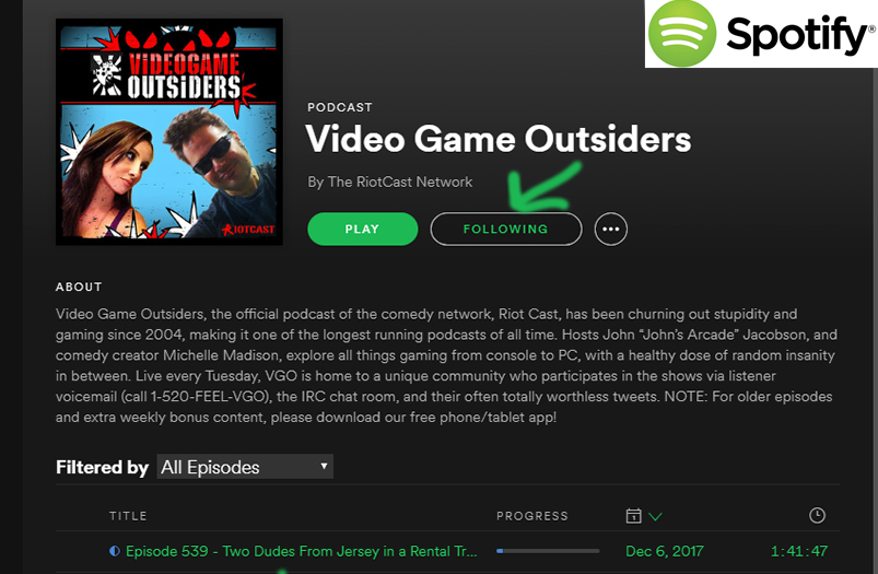 VGO is now on SPOTIFY! | Video Game Outsiders - A Podcast