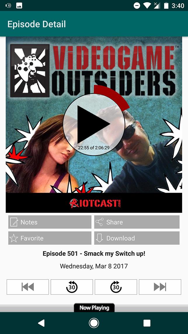 Listen to VGO episodes