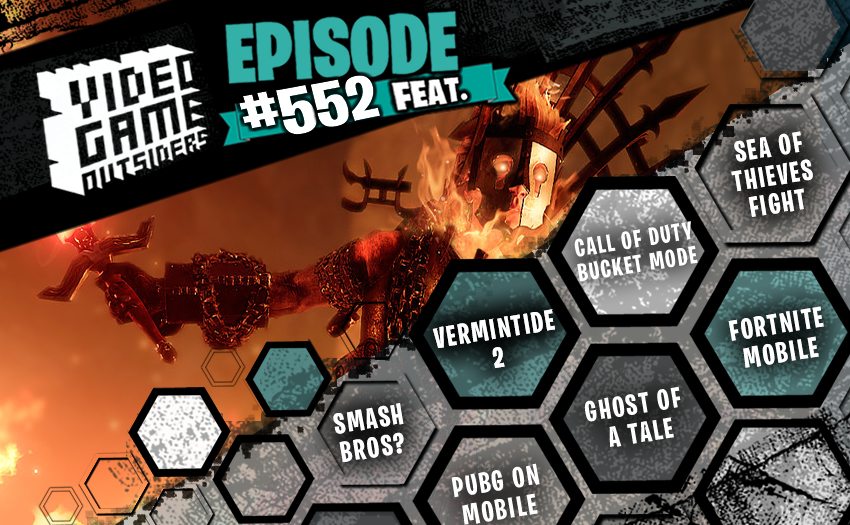 Episode #552 – Rat Men, Talking Buckets, and Fortnite Mobile!