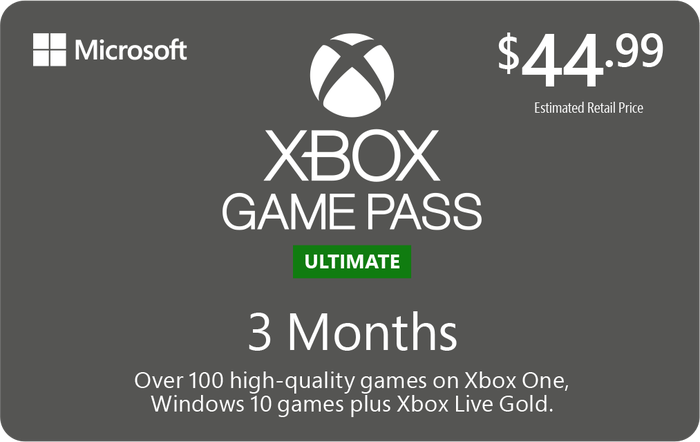 Xbox Game Pass Ultimate 3 Month Giveaway x15 Sponsored by Microsoft!