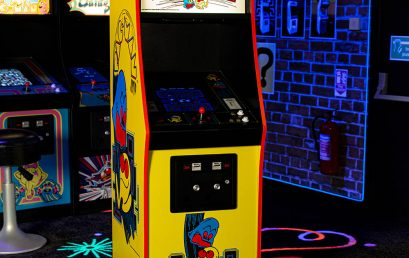Win a Mini PAC-man Arcade Cabinet by Numskull