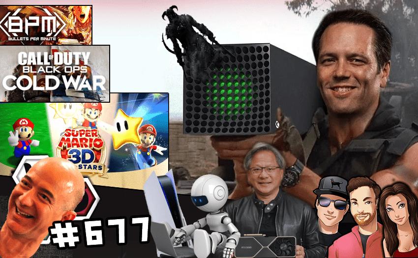 Episode #677 – Bots, Bezos, and Bethesda: The PS5, Xbox, and 3080 Pre-order Apocalypse!