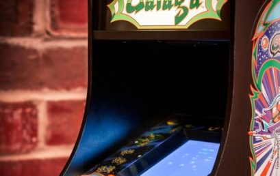 Win a Mini Galaga Arcade Machine from VGO and Numskull