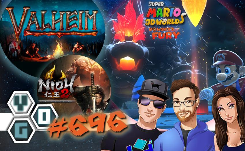 Episode #696 – Valheim, Super Mario 3D + Bowser's Fury, Nioh 2 Complete Edition PC