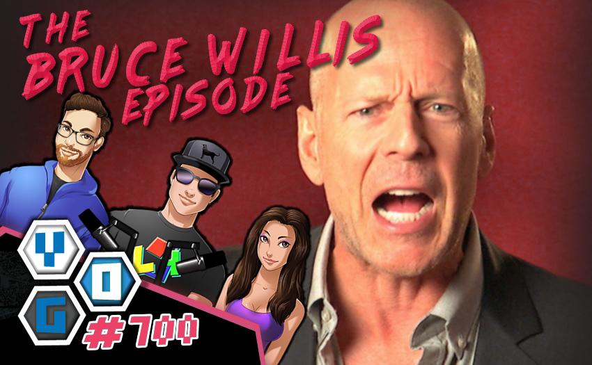 Episode #700 – Bruce Willis is a Cuck